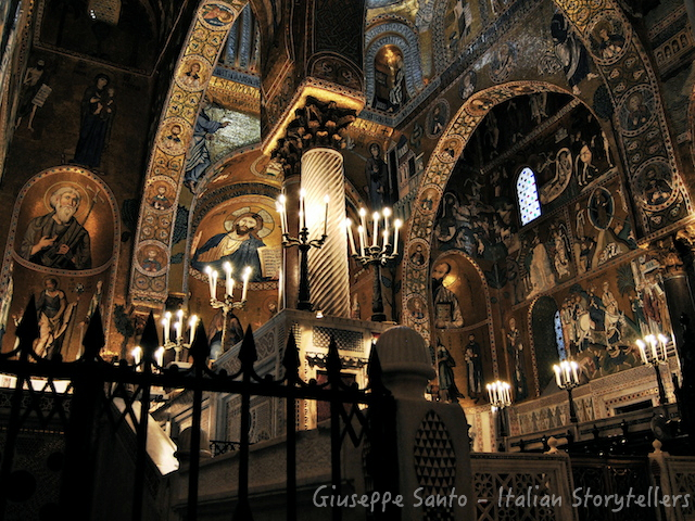 Palatine Chapel Palermo Sicily_Italian Storytellers