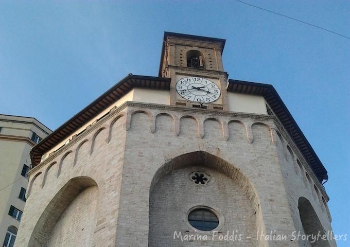 Visiting Perugia - Chiesa di Sant'Ercolano