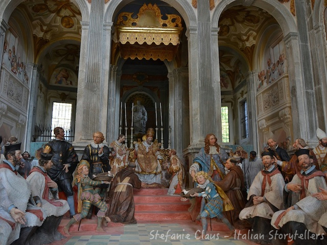 Visiting PIedmont Italy: Sacred Mount in Orta