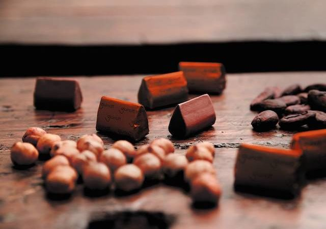 History chocolate Turin