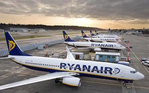 Ryanair new routes Italy