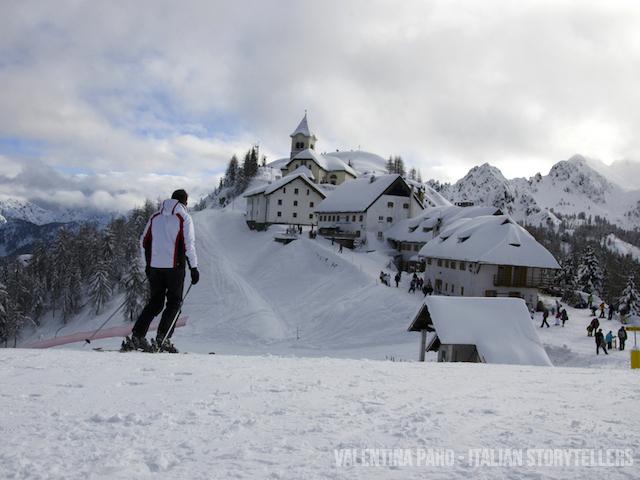 Skiing in Friuli