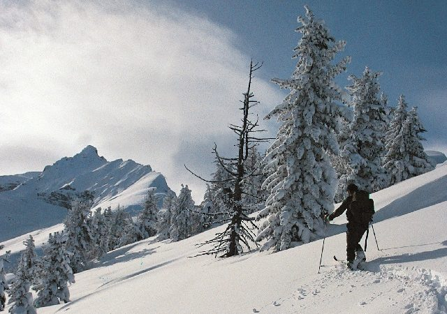 Skiing Val Susa
