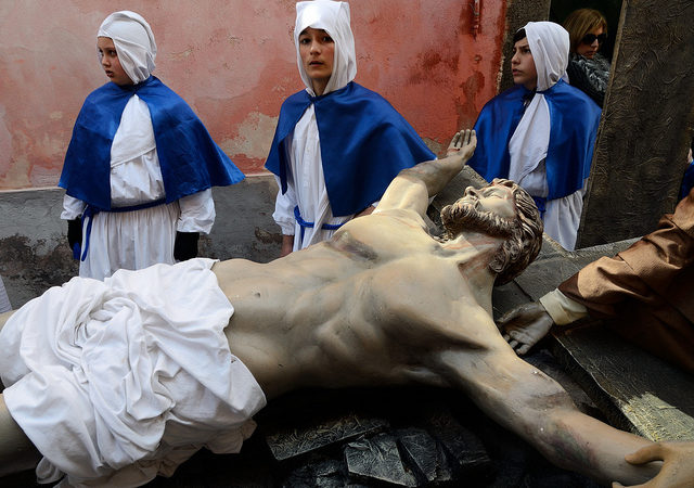 Holy Friday procession in Procida