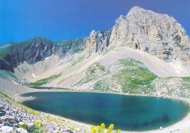 Pilato Lake in the Sibillini Mountains