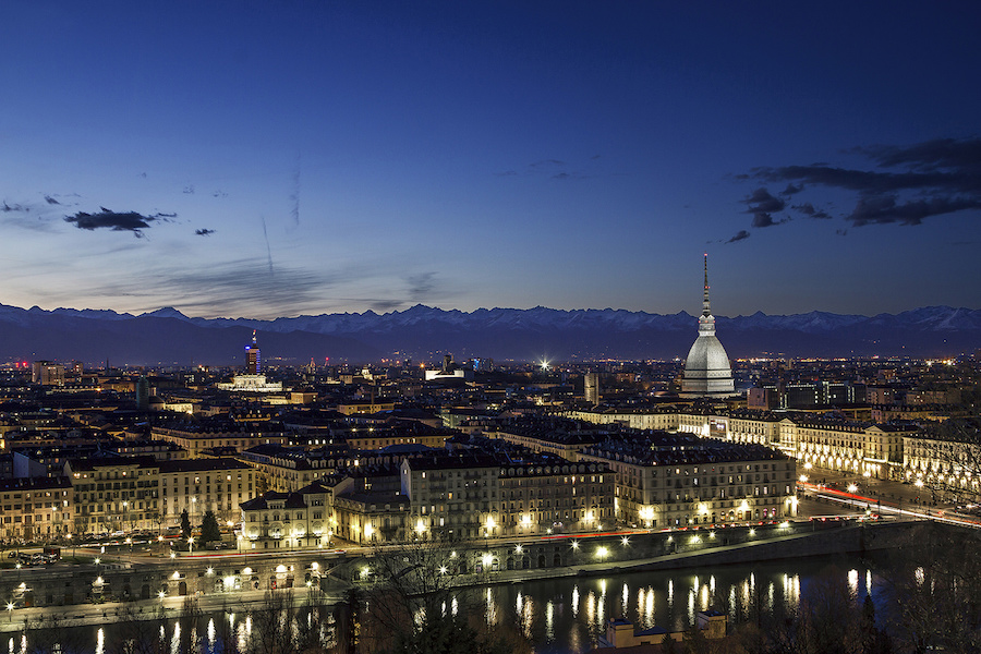 Turin's night landscape