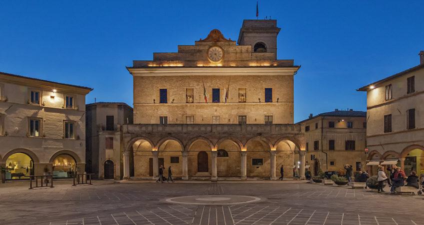 Montefalco Umbria - medieval village