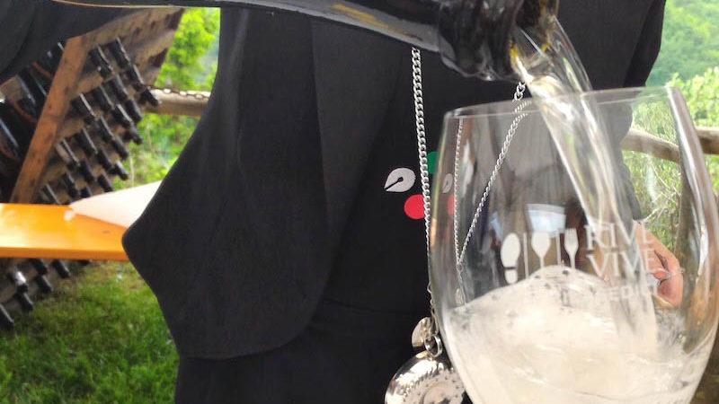 Italian Prosecco white wine