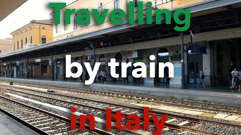 Travelling by train in Italy