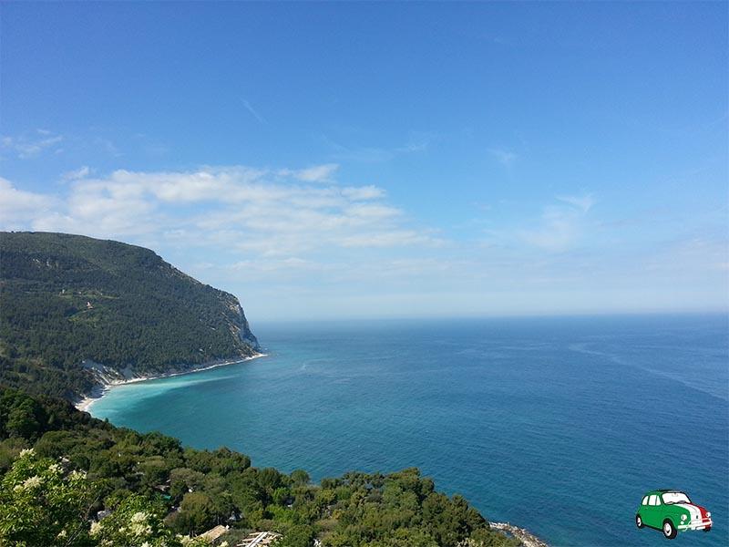 Conero: beach Italy's Adriatic coast