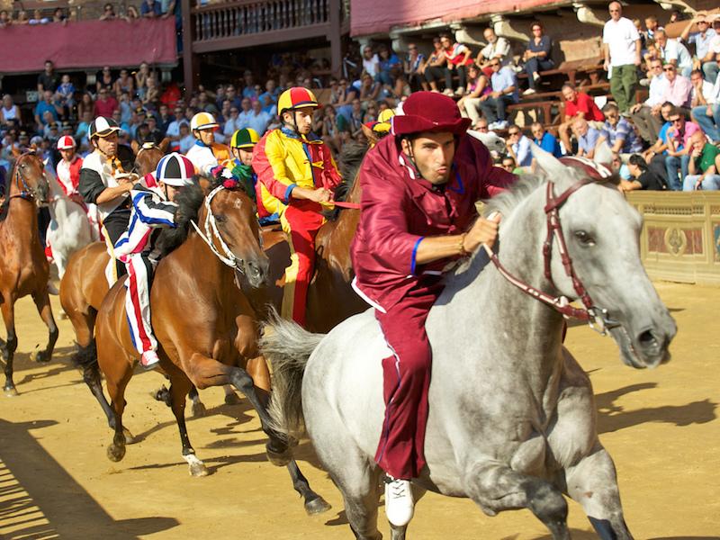 Palio di Siena facts: horse race