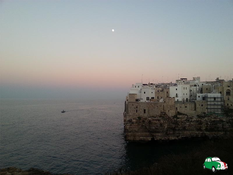 Polignano a Mare: beaches Italy's Adriatic coast