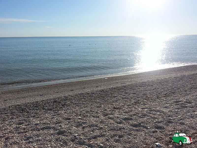 Senigallia: beach Italy's Adriatic coast