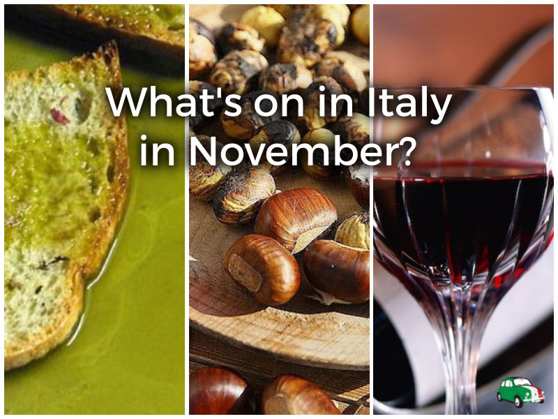 Festivals and events in Italy in November