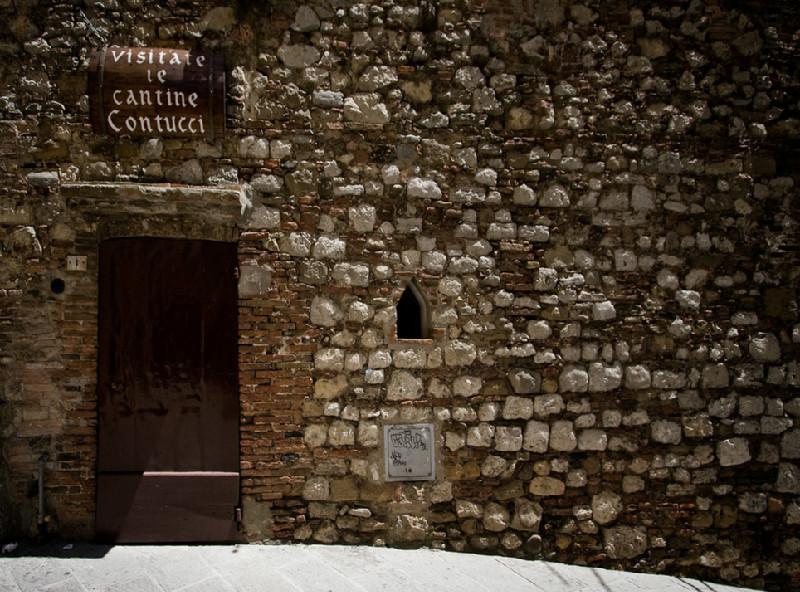 Contucci Cellar in Montepulciano